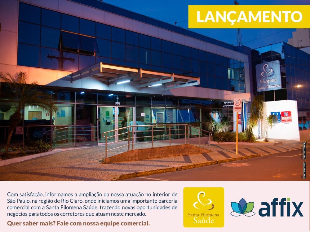 Lançamento Affix em parceria com a Santa Filomena